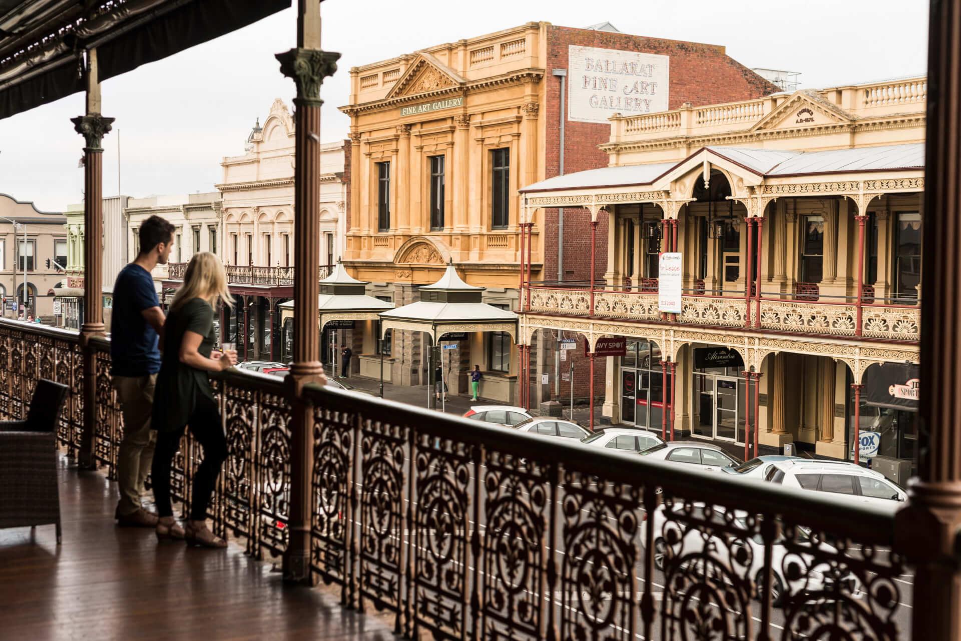 Melbourne Private Tours Ballarat Lydiard St