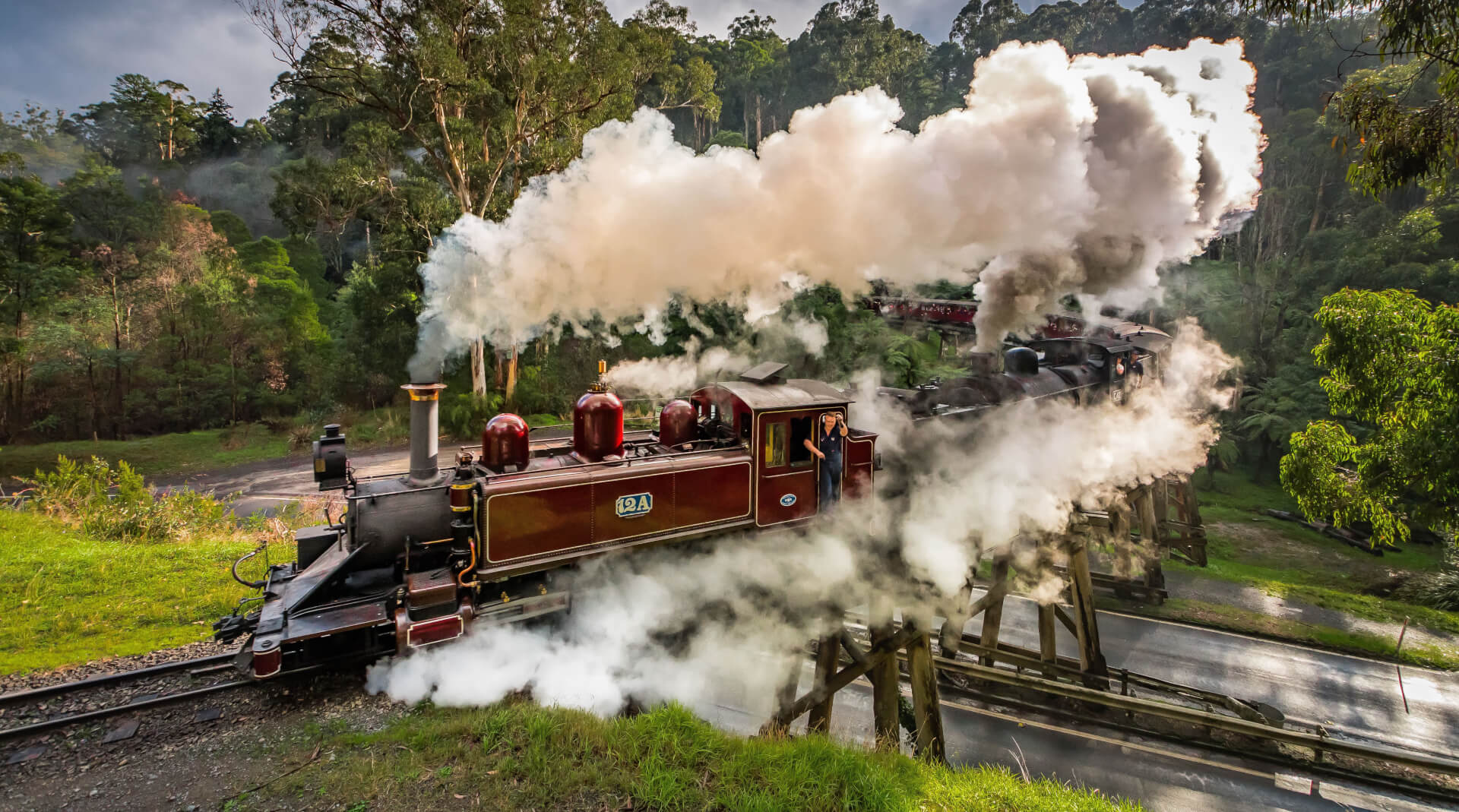 Melbourne Private Tours Dandenong Ranges Puffing Billy 1 min