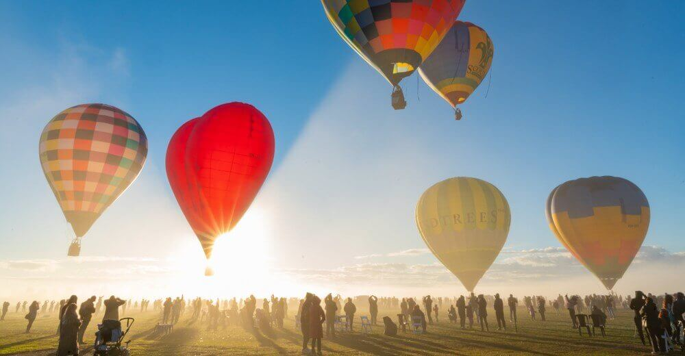 King Valley Victoria High Country Hot air balloon festival