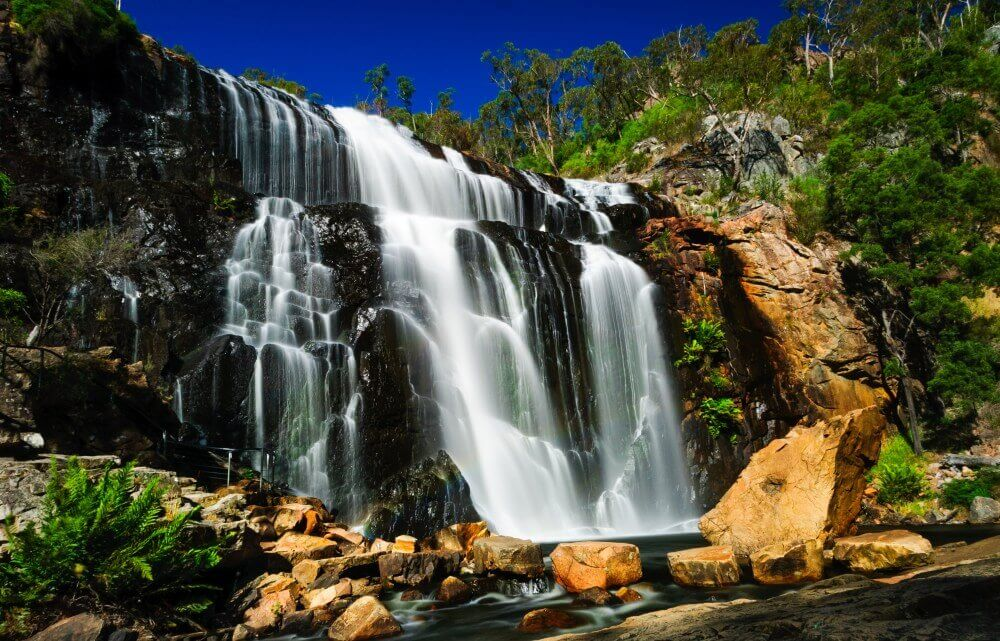 MacKenzie Falls in Grampians National Park near Melbourne