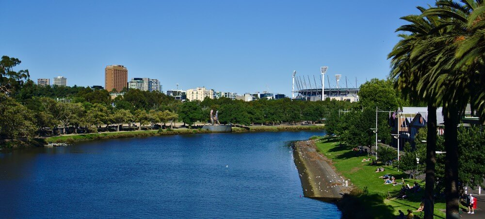 Attractions near MCG - Yarra River