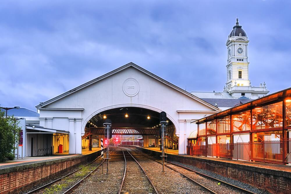 Melbourne Private Tours Historic train station in Ballarat regional Victoria