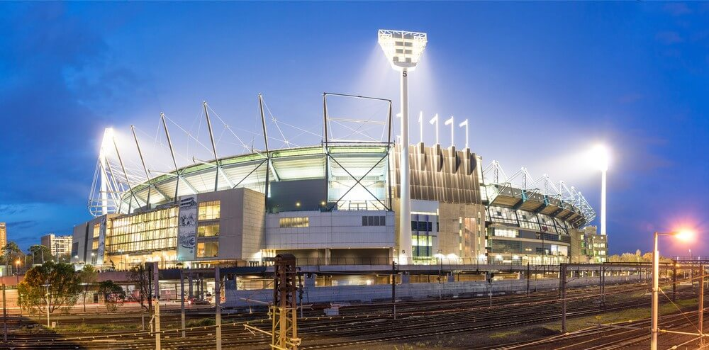 Iconic sporting venue Melbourne Cricket Ground