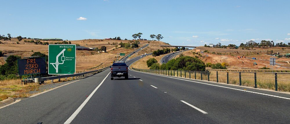 Visit Bacchus Marsh Road junction at the Western Highway