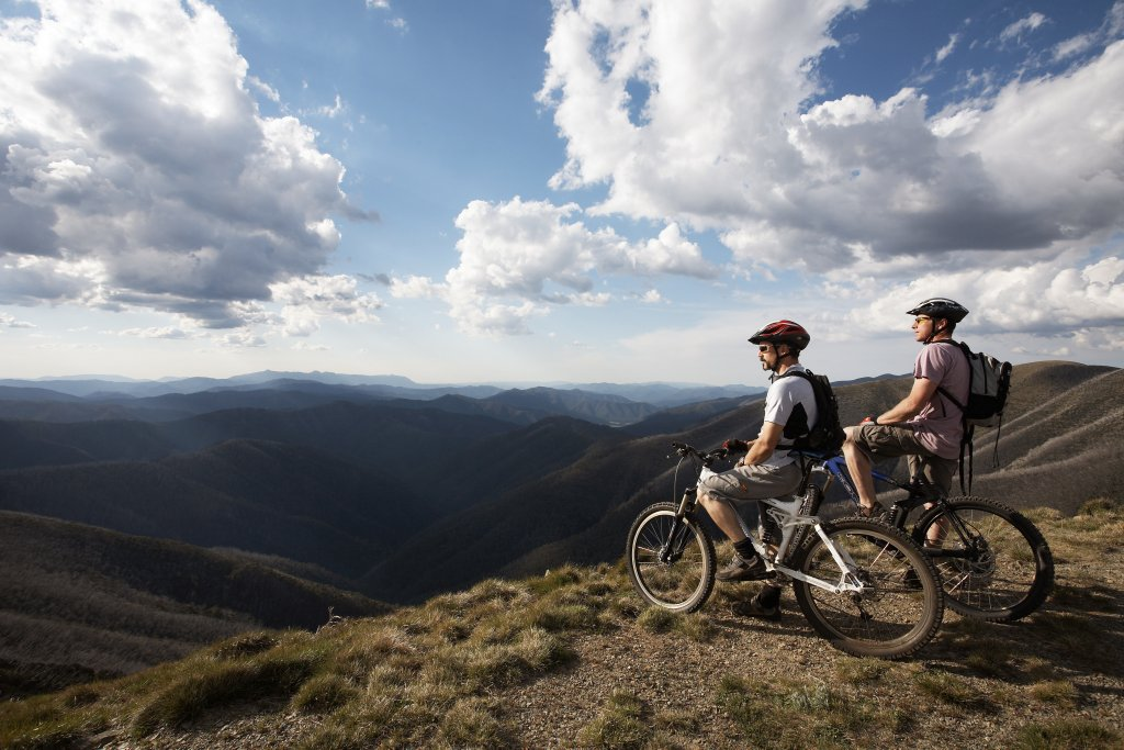 Mountain biking Mount Hotham